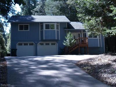 Nevada City Single Family Home For Sale: 15489 Cascade Drive