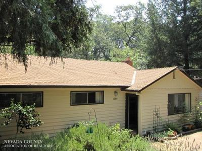Grass Valley Single Family Home For Sale: 10519 C Street