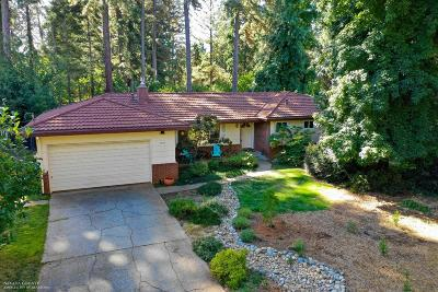 Nevada City Single Family Home For Sale: 11397 Via Vista Drive