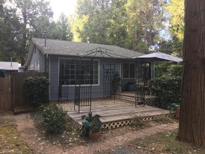 Grass Valley CA Single Family Home For Sale: $306,000