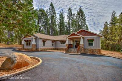 Nevada City Single Family Home For Sale: 11369 Constitution Court