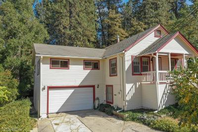 Grass Valley Single Family Home For Sale: 158 Lucas Lane
