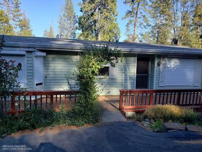 Nevada City Single Family Home For Sale: 10837 Yukon Way
