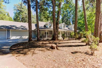 Nevada City Single Family Home For Sale: 13595 Quaker Hill Cross Road