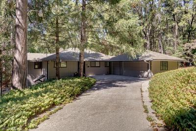 Nevada City Single Family Home For Sale: 12910 Mayflower Drive