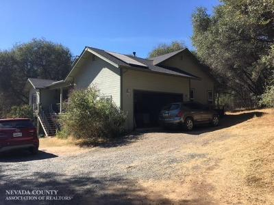 Grass Valley Single Family Home For Sale: 18120 Traighly Lane