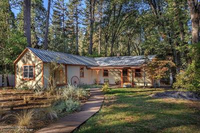 Nevada City Single Family Home For Sale: 10814 Genasci Road