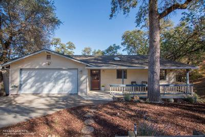 Nevada County Single Family Home For Sale: 12176 Poplar Road