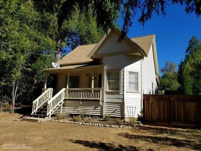 Grass Valley CA Single Family Home For Sale: $295,000