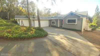 Nevada County Single Family Home For Sale: 17708 Chaparral Drive