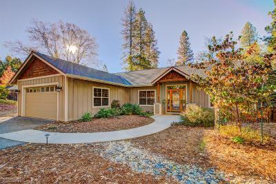 Grass Valley Single Family Home For Sale: 11529 Squirrel Creek Road