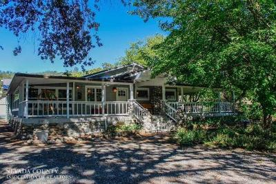 Nevada County Single Family Home For Sale: 13853 Beitler Road