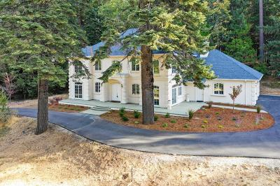 Nevada County Single Family Home For Sale: 10007 Ridgewood Road