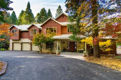 Nevada County Single Family Home For Sale: 10955 Murchie Mine Road