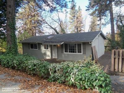 Nevada County Single Family Home For Sale: 13518 La Barr Meadows Road