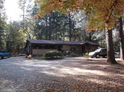 Nevada County Single Family Home For Sale: 12888 Rattlesnake Road
