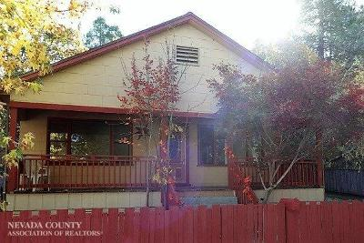 Grass Valley Single Family Home For Sale: 609 Le Duc Street