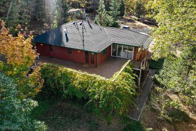 Nevada County Single Family Home For Sale: 14345 Lightning Tree Road