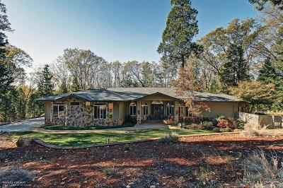 Nevada County Single Family Home For Sale: 13620 Bass Trail