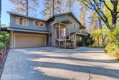 Nevada County Single Family Home For Sale: 10733 Henson Way