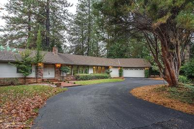Nevada City Single Family Home For Sale: 11654 Via Vista