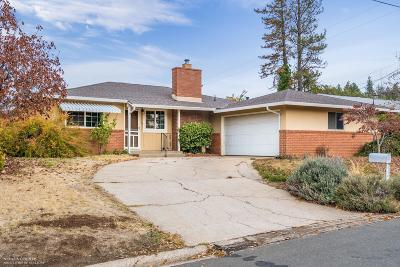 Grass Valley Single Family Home For Sale: 120 Lidster Avenue