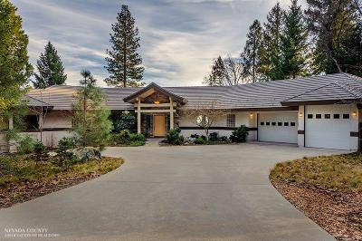 Nevada City Single Family Home For Sale: 13653 Pegasus Place