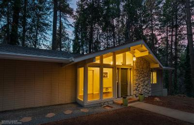 Nevada City Single Family Home For Sale: 11450 Marjon Drive