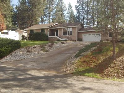 Grass Valley Single Family Home For Sale: 11307 Sunset Way
