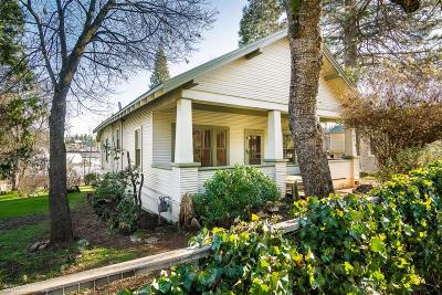 Grass Valley Single Family Home For Sale: 119 Eureka Street