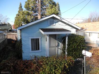 Grass Valley Single Family Home For Sale: 108 Kendall Street