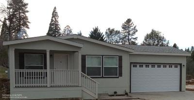 Grass Valley CA Single Family Home For Sale: $335,500