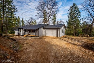 Grass Valley Single Family Home For Sale: 20037 Tanglewood Road