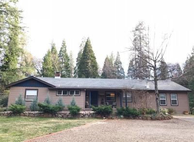 Nevada City Single Family Home For Sale: 10967 Ridge Road