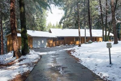 Nevada City Single Family Home For Sale: 10833 Murchie Mine Road