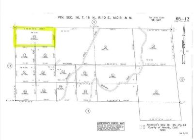 Nevada City CA Residential Lots & Land For Sale: $124,000