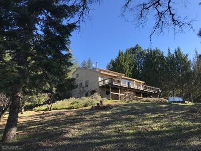 Nevada County Single Family Home For Sale: 19235 Wild Oak Road