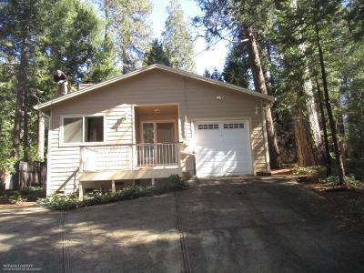 Nevada City CA Single Family Home For Sale: $339,000
