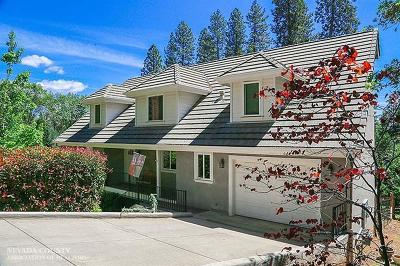 Nevada City Single Family Home For Sale: 15726 Ridge Estates Road