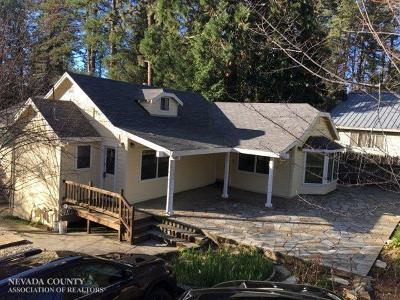 Grass Valley Single Family Home For Sale: 135 E Empire Street