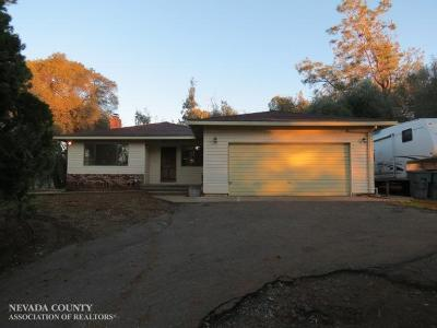 Browns Valley Single Family Home For Sale: 9355 Sicard Flat Road