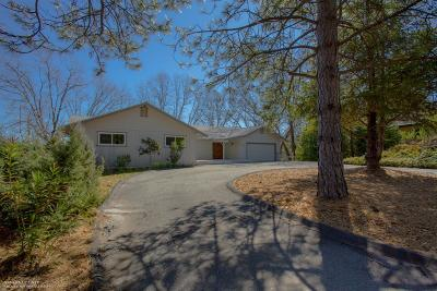 Grass Valley Single Family Home For Sale: 16187 Tina Court