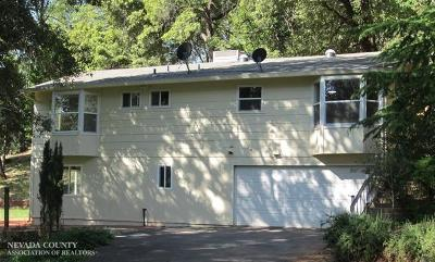 Grass Valley Single Family Home For Sale: 11543 Brookview Drive
