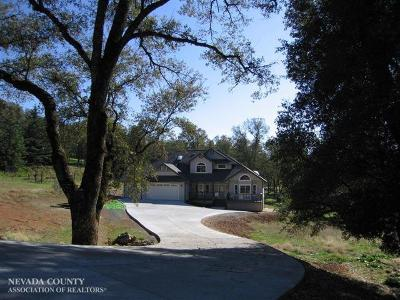 Nevada County Single Family Home For Sale: 12101 Wanderer Road