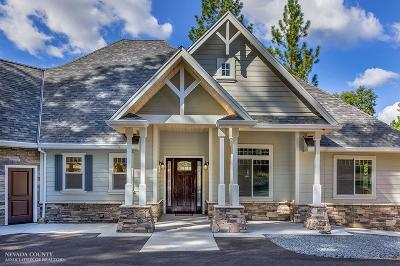 Nevada City Single Family Home For Sale: 11198 Pittsburg Mine Road