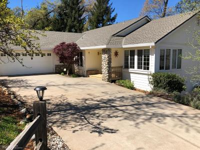 Grass Valley Single Family Home For Sale: 107 Ventana Ridge Place