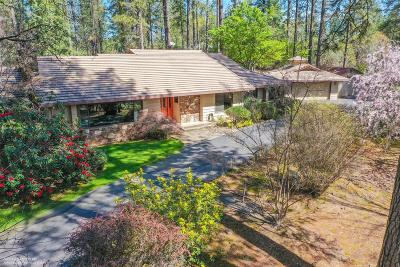 Grass Valley Single Family Home For Sale: 16466 Rattlesnake Road