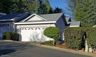 Grass Valley, Smartsville Condo/Townhouse For Sale: 110 Carriage Lane