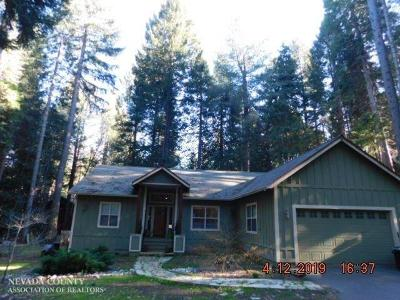 Nevada City Single Family Home For Sale: 15949 Banner Quaker Hill Road