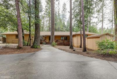 Nevada City Single Family Home For Sale: 14965 Lake Lane